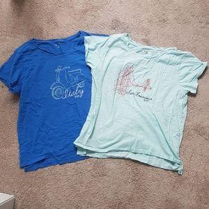 Gap short sleeve tshirts